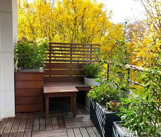 Terrasses végétalisées 8