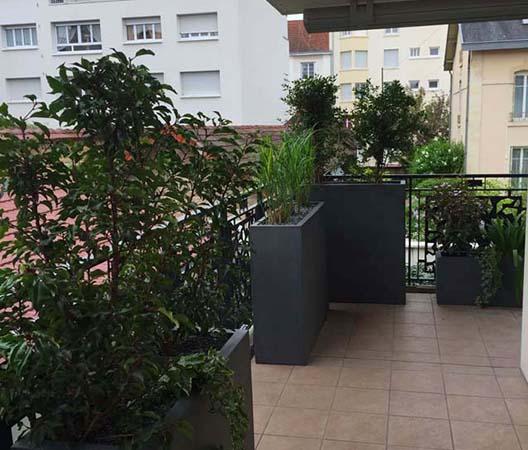 Terrasses végétalisées 9