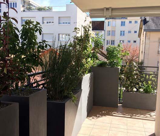 Terrasses végétalisées 12
