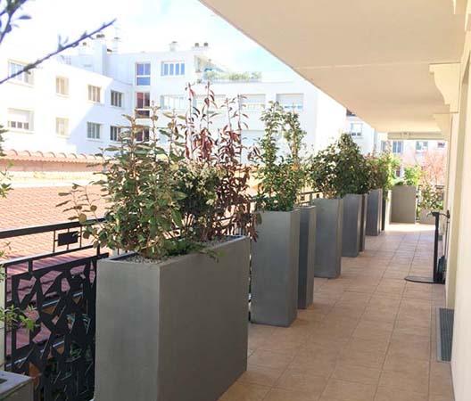 Terrasses végétalisées 13