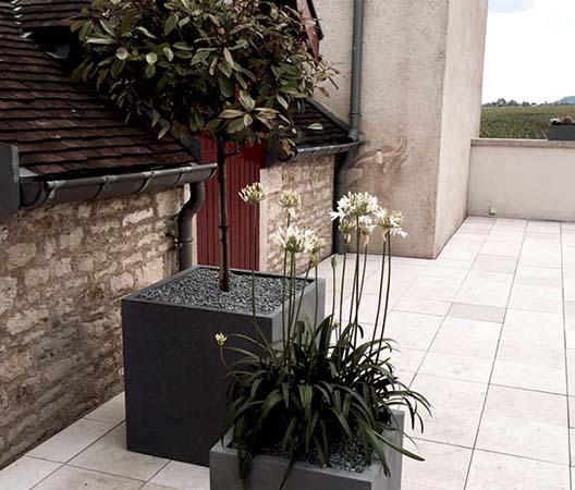 Terrasses végétalisées 25